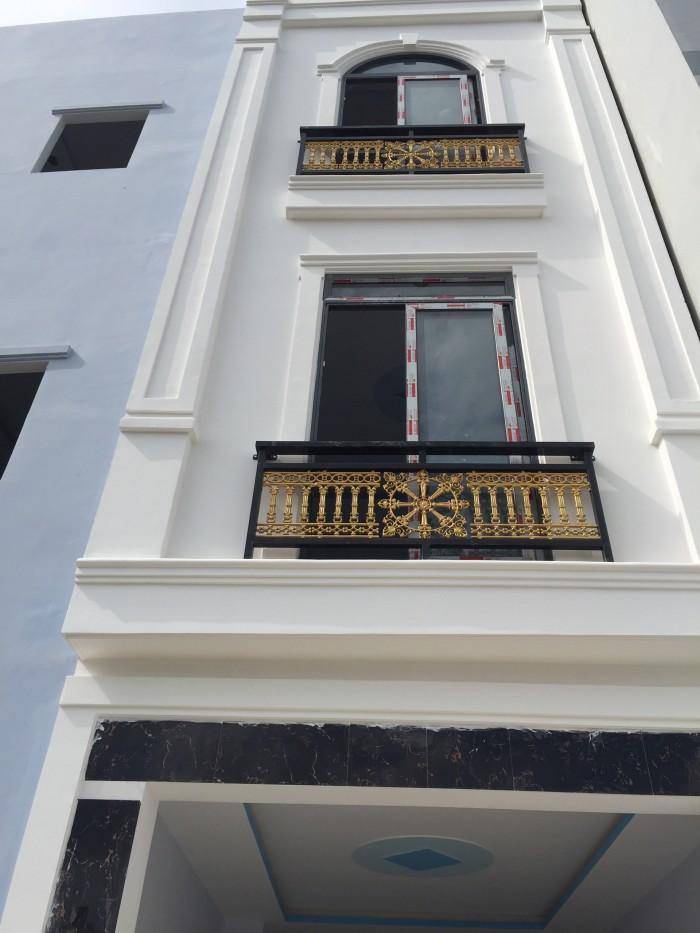 Nhà mới ngay Bệnh viện Bình Tân, xây dựng 4 tầng, sắp hoàn thiện, giá tốt đầu tư chỉ 1,9tỷ