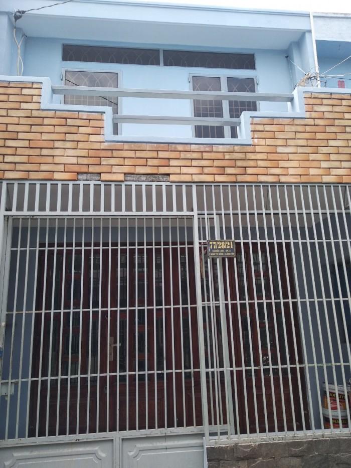 Bán nhà hẻm đường chiến lược, quận Bình Tân, 4,23x10, giá 3 tỷ 1