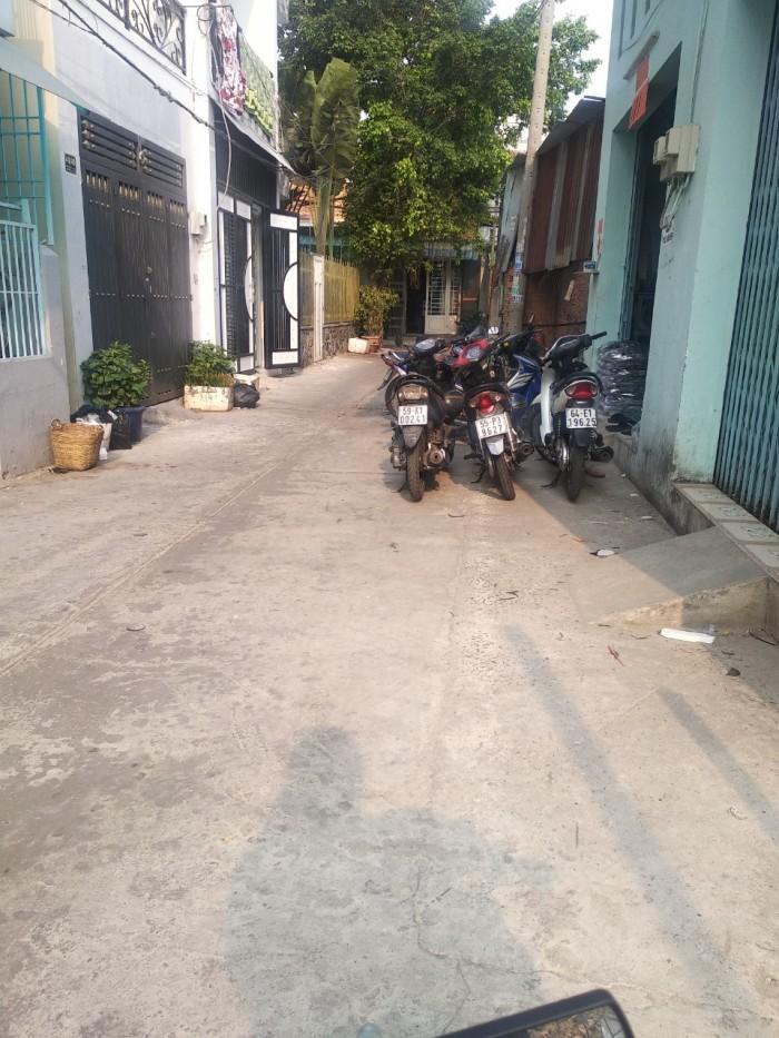 Bán nhà hẻm đường 14a, quận Bình Tân, 3,5x9, giá 3 tỷ5
