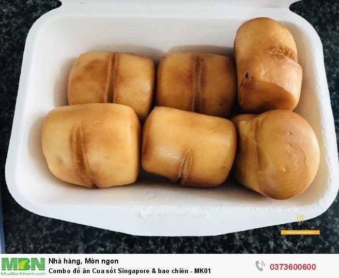 Bánh bao chiên trong combo đồ ăn MK012