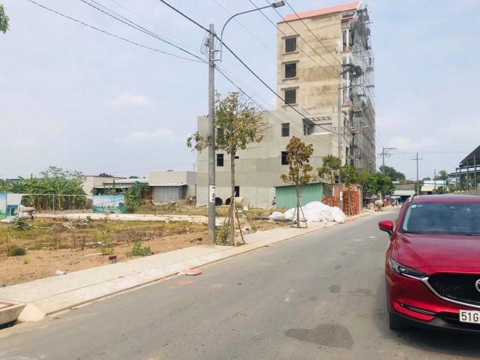 Đất nền Dự Án D'Villa CenTa-Khu Đô Thị Mới Tp Tân An-Giá 980tr/nền-SHR