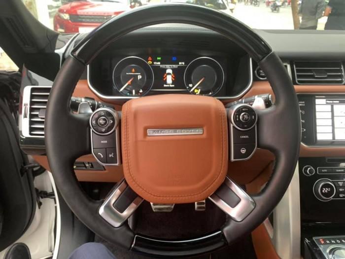 Range Rover Autobiography LWB Model 2015 2 màu trắng /đen
