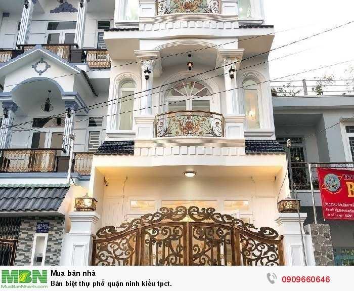 Bán biệt thự phố quận Ninh Kiều tpct.