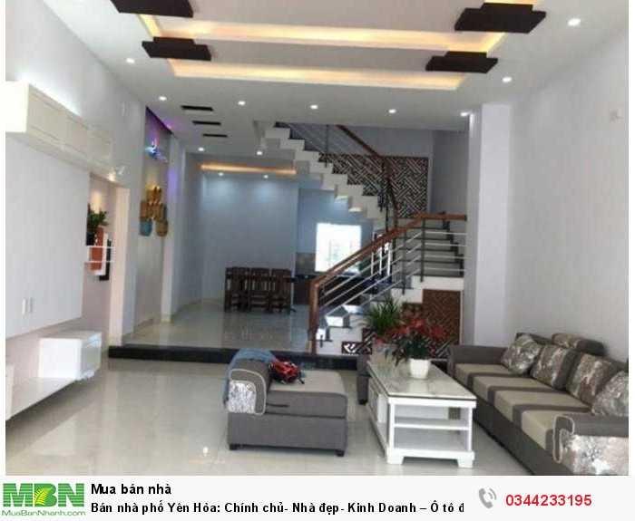 Bán nhà phố Yên Hòa: Chính chủ- Nhà đẹp- Kinh Doanh – Ô tô đỗ gần nhà 45m*4 tầng.