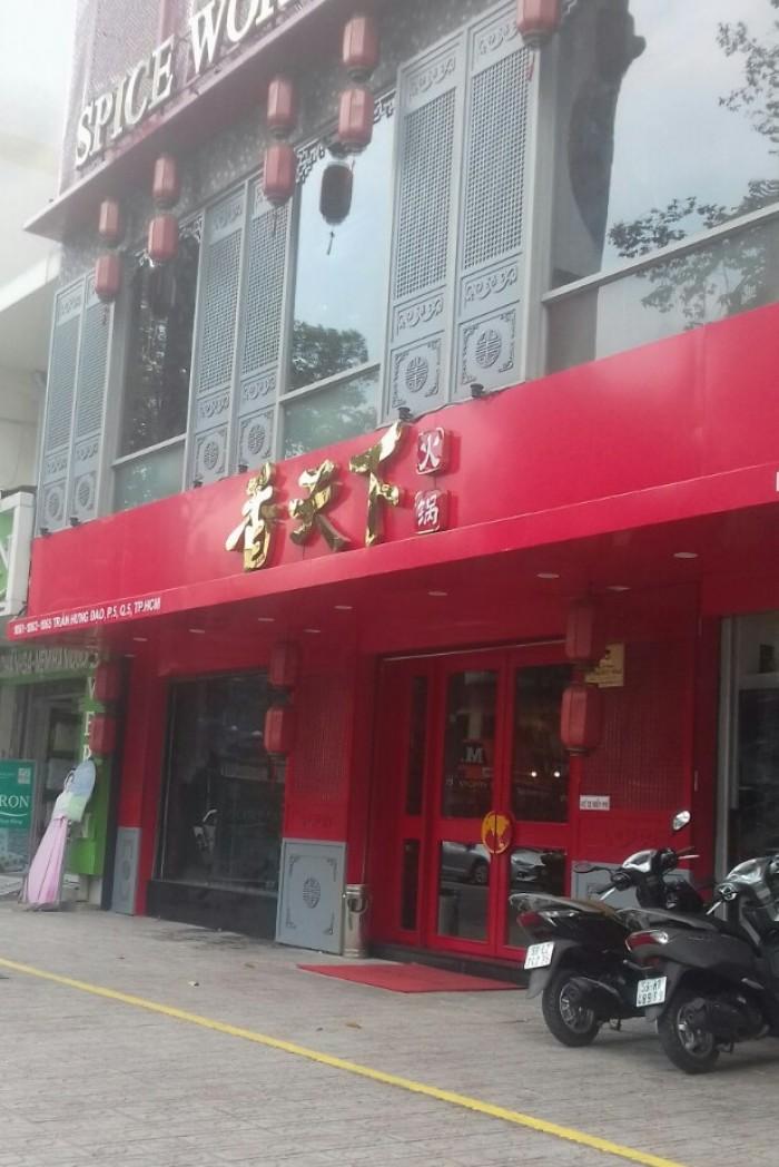 Xuất cảnh, bán nhà Trần Hưng Đạo, Quận 5, 520m, 110 tỷ