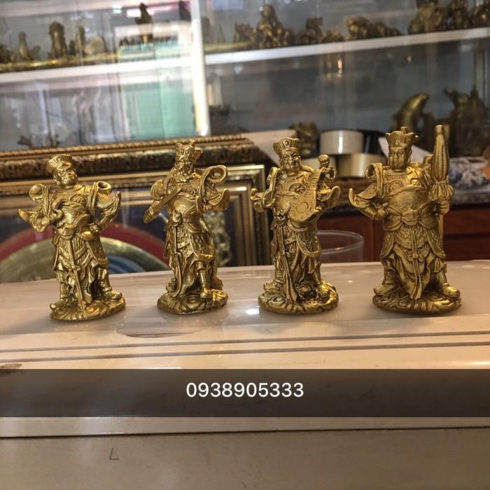 Tượng tứ đại thiên vương thiên tướng cao 8cm0