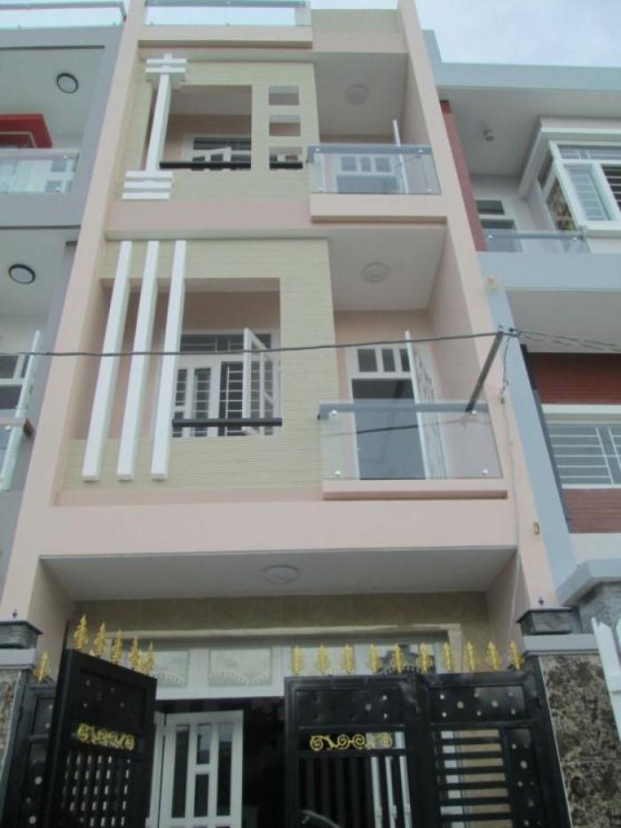 Nhà đường Hùng Vương, Q.10. DT 85.5m2, ngang 4.6m, 1 trệt 2 lầu, giá 4.5 tỷ