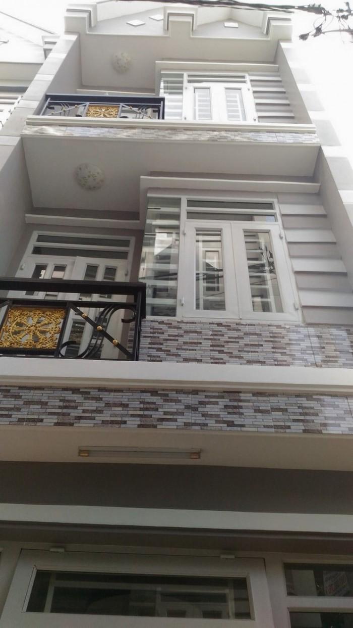 Nhà đường Bình Phú, DT 108.1m2, ngang 5.2m. gần Metro Bình Phú, giá 3.6 tỷ