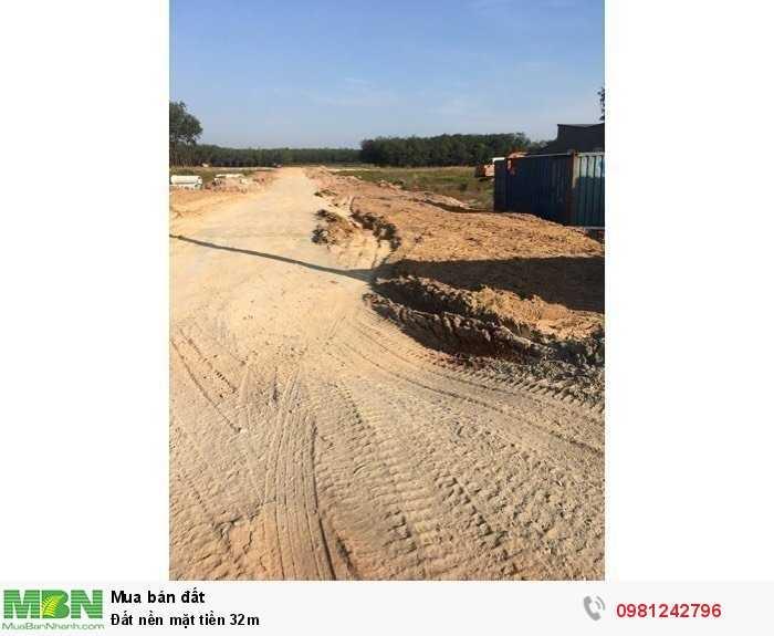 Đất nền mặt tiền 32m
