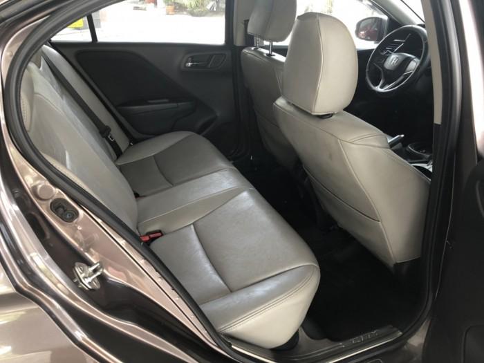 Bán Honda City 1.5AT màu nâu titan số tự động sản xuất 2016 biển Bình Dương 1 chủ