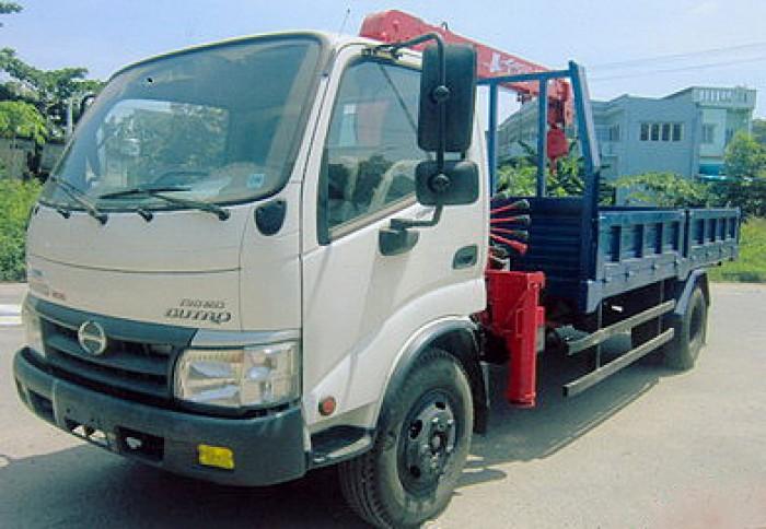HINO WU352L gắn cẩu 2 tấn UNIC model URV223 | Khuyễn mãi Thuế trước bạn 2% | Hỗ trợ vay ngân hàng cao 0