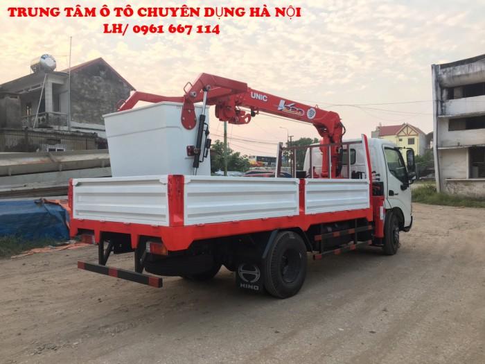 HINO XZU650L gắn cẩu 2 tấn UNIC model URV234 | Giá tốt nhất | Hỗ trợ khách hàng mua xe trả góp