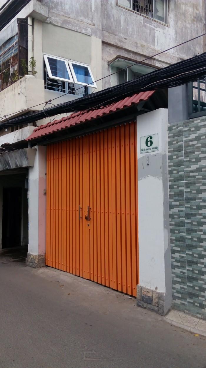 Góc 2 MT Trần Hữu Trang. 4x17, hậu nở 8m. Gía 11 tỷ