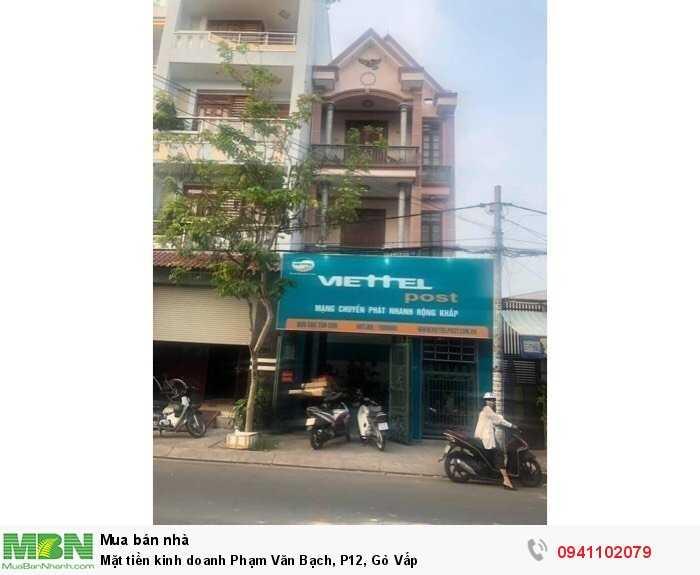 Mặt tiền kinh doanh Phạm Văn Bạch, P12, Gò Vấp