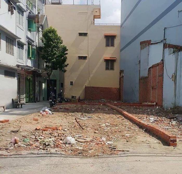 Bán ngay lô đất nền hẻm Phan Văn Hớn, Bà Điểm, giá từ 850 triệu/80m2/nền, sổ hồng riêng