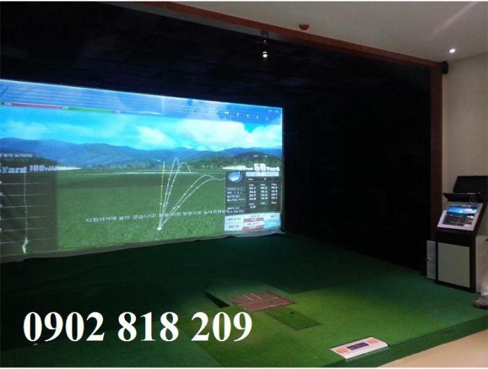 Thi công phòng chơi golf 3D chỉ từ 300tr