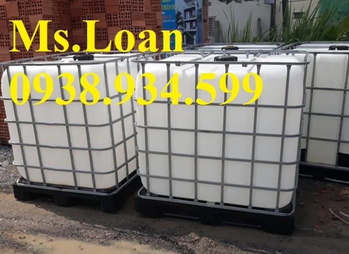 Tank nhựa ibc 1000 lít,tank nhựa 1000 lít đựng hóa chất1