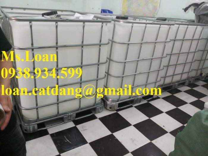 Tank nhựa ibc 1000 lít,tank nhựa 1000 lít đựng hóa chất2