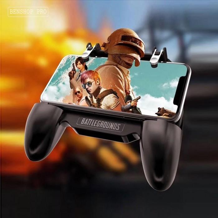 Tay cầm chơi game PUBG cao cấp tích hợp quạt tản nhiệt và sạc dự phòng cho điện thoại SR2 (4000mAh)4