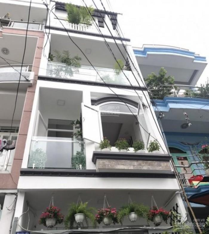 Bán nhà hẻm 4m Hoàng Hoa Thám, 49m2, 4 tầng, 5.35 tỷ.