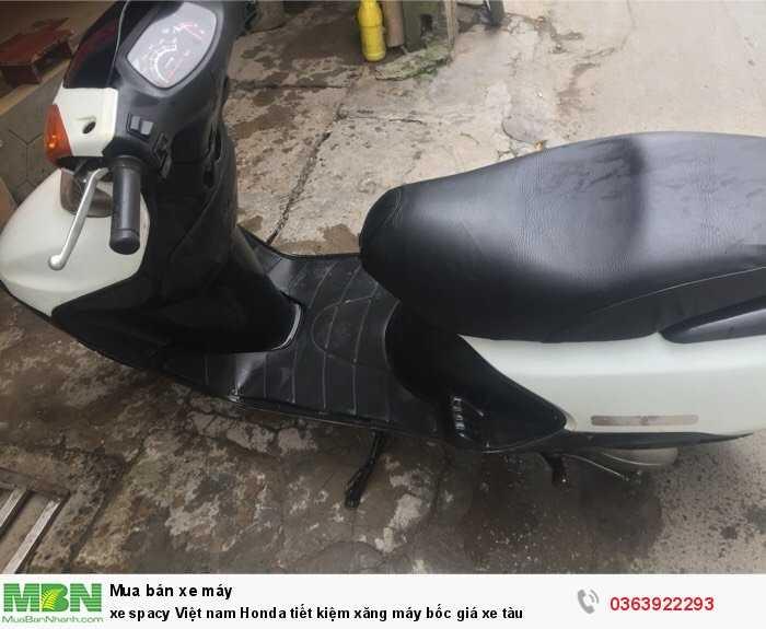 Xe Spacy Việt nam Honda tiết kiệm xăng máy bốc giá xe tàu