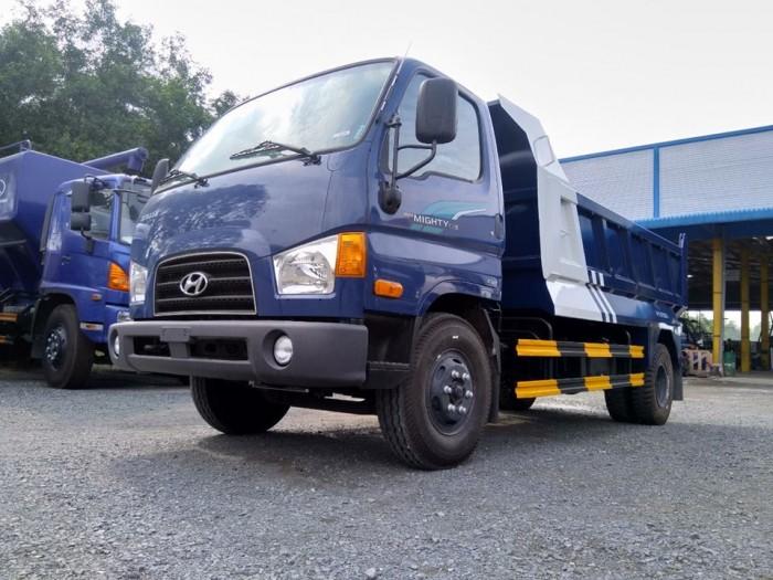 Xe tải Ben tự đổ Hyundai 5 khối - đưa trước 20% nhận xe ngay