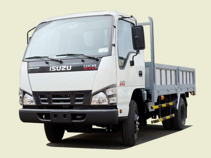 Xe tải Isuzu 2T5 thùng lửng - QKR77HE4