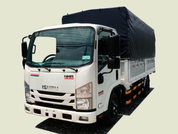 Xe tải Isuzu 2T4 thùng mui bạt - NMR77EE4 0