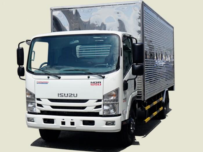 Xe tải Isuzu 5T thùng kín - NQR75LE4