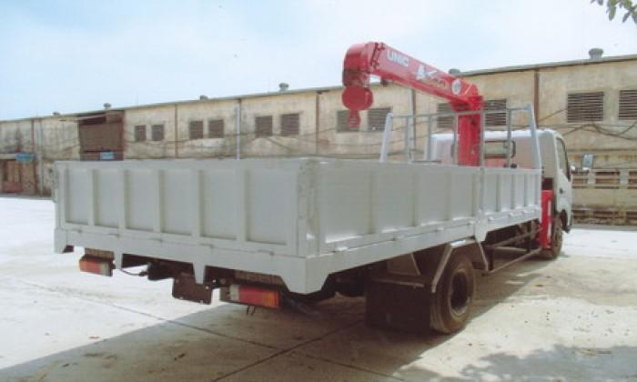 HINO XZU730L gắn cẩu 3 tấn UNIC model URV344 | Hỗ trợ khách hàng mua xe trả góp 90% giá trị xe 3