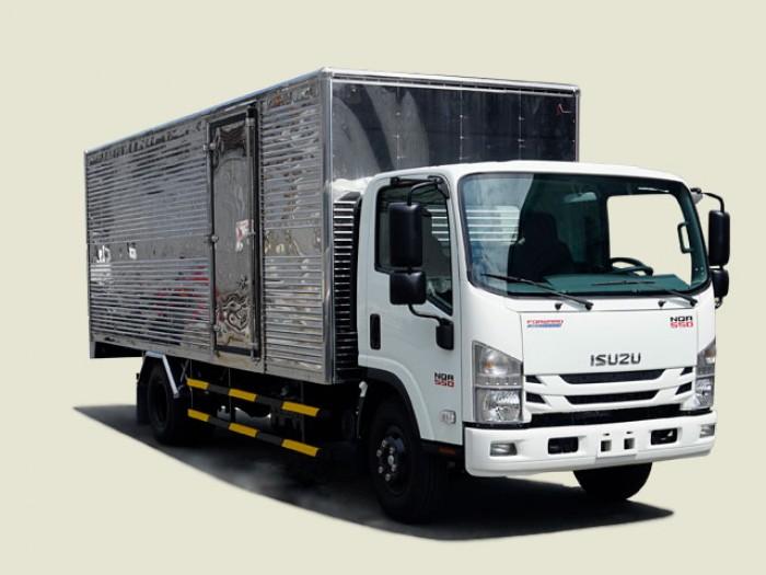 Xe tải Isuzu 5T5 thùng kín - NQR75LE4