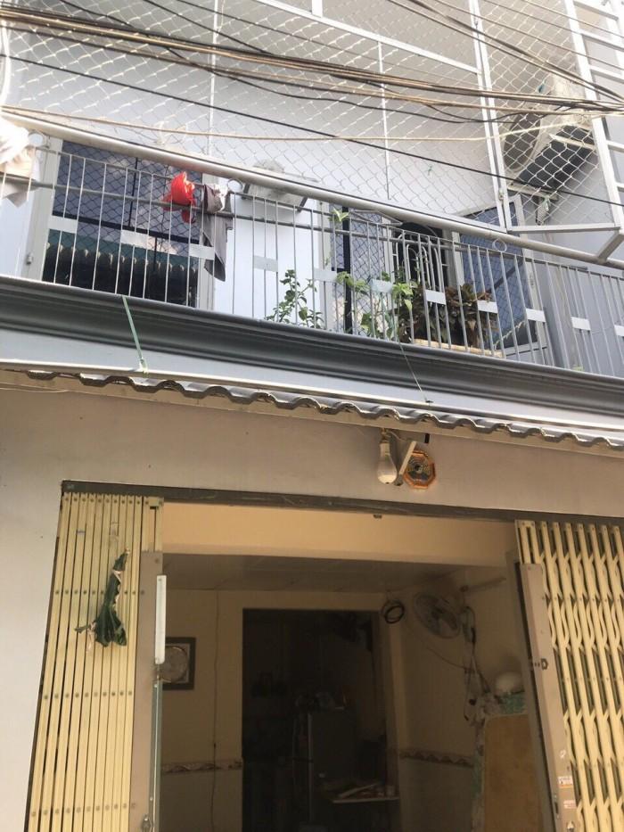 Bán nhà sổ hồng riêng đường nguyễn Thị Sáu, phường Thành Lộc, Q12 đúc một trệt, một lầu