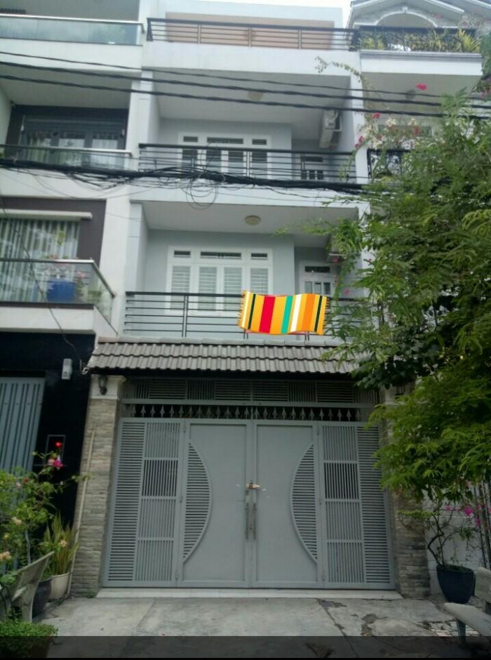 Cho thuê nhà nguyên căn tại Khu Tên Lửa, Bình Tân,  100m2, 4 tầng 4PN