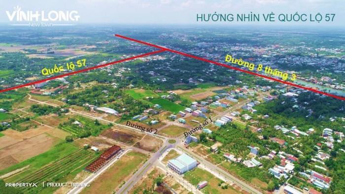 Đất nền sổ đỏ trung tâm Tp Vĩnh Long