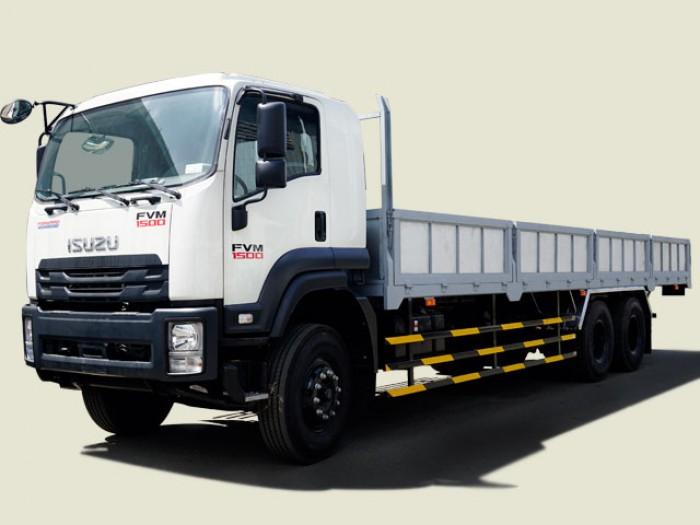 Xe tải Isuzu 15 tấn thùng lửng - FVM34WE4, thùng dài 9m3