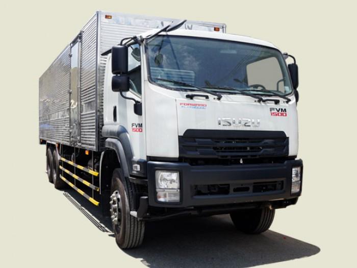 Xe tải Isuzu 15T5 thùng kín - FVM34TE4,thùng dài 7m66 0