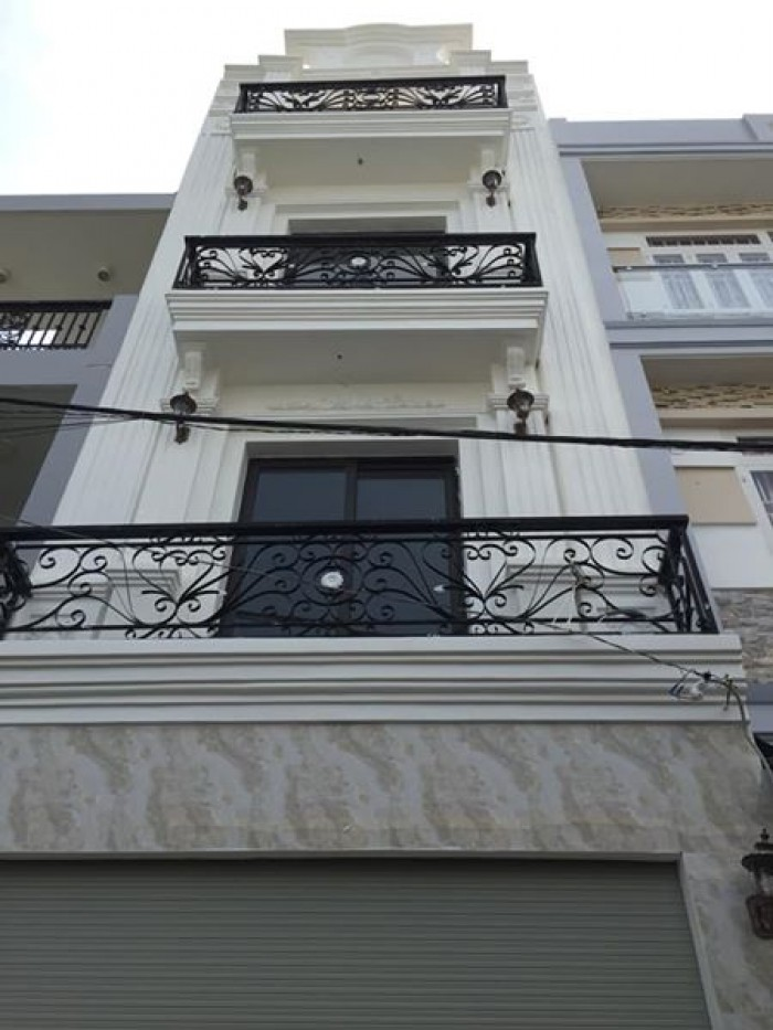 Chỉ 6.5 TỶ sở hữu ngay nhà 1 trệt, 3 lầu Nhà Đẹp 100% đường Nguyễn Xí, Q.bình thạnh.
