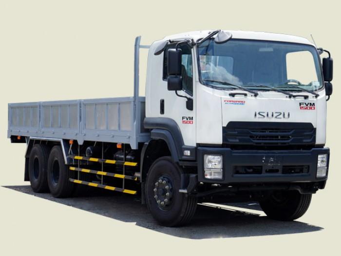 Xe tải Isuzu 16 tấn thùng lửng - FVM34TE4, thùng dài 7m7