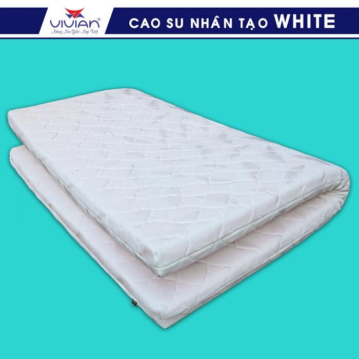 Nệm cao su nhân tạo VIVIAN WHITE BH-5N - 1m6x2mx10cm4