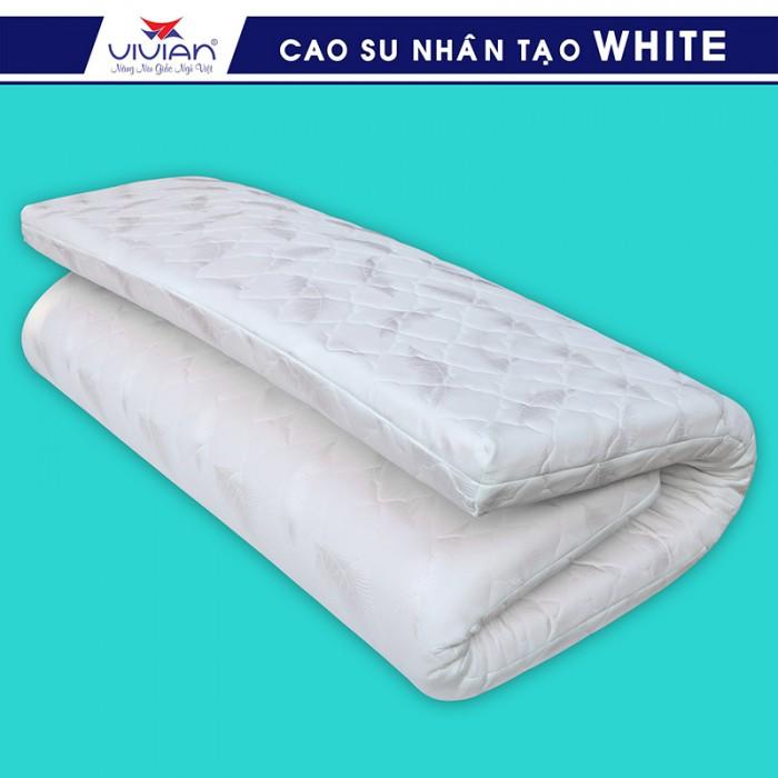Nệm cao su nhân tạo VIVIAN WHITE BH-5N - 1m6x2mx10cm3