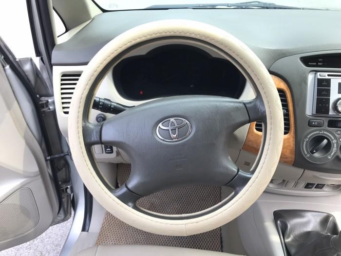 Cần bán xe Toyota Innova G năm sản xuất 2011, màu bạc 16