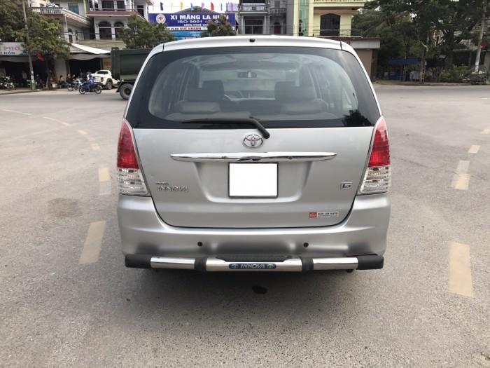 Cần bán xe Toyota Innova G năm sản xuất 2011, màu bạc 15