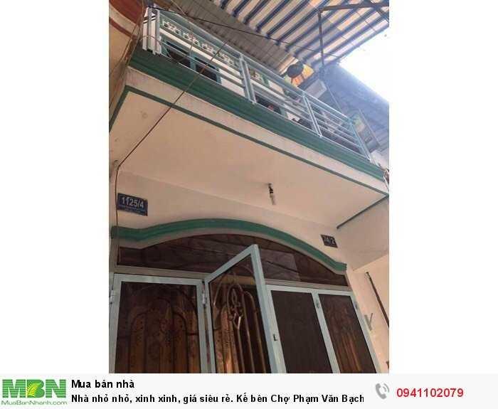 Nhà nhỏ nhỏ, xinh xinh, giá siêu rẻ. Kế bên Chợ Phạm Văn Bạch, P12, Gò Vấp