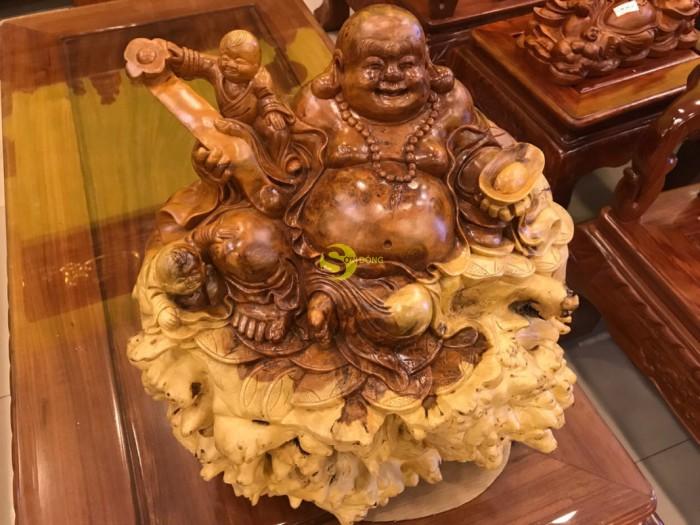 Tượng Phật Di Lặc Gỗ Nu Hương Quý Hiếm0