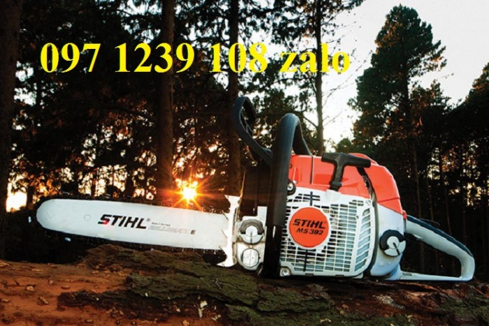 Máy cưa xích chạy xăng STIHL MS 382 hàng chính hãng, giá phải chăng2