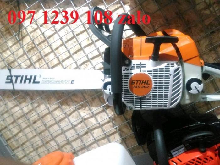 Máy cưa xích chạy xăng STIHL MS 382 hàng chính hãng, giá phải chăng1