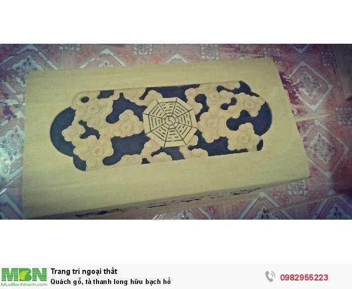 Quách gỗ,  tả thanh long hữu bạch hổ2