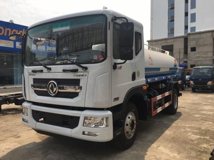 Xe DONGFEN phun nước rửa đường - tưới cây - chữa cháy xa 40m