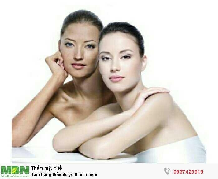 Tắm trắng thảo dược thiên nhiên