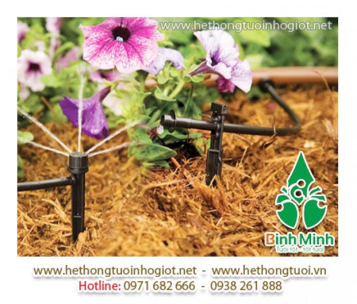 Hệ thống tưới nhỏ giọt tại Hà Nội